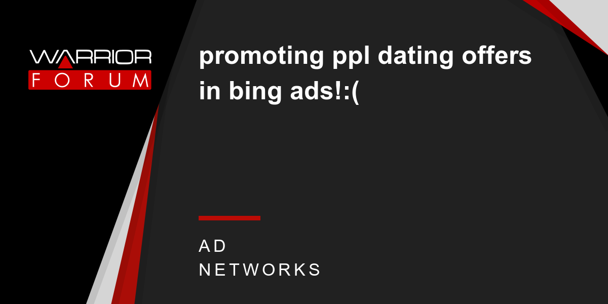 promoting dating offers