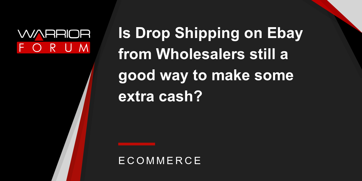 Is It Possible To Make Money On Ebay Dropship Unlicensed