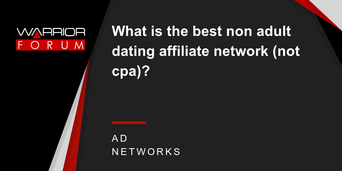 Adult affiliate network