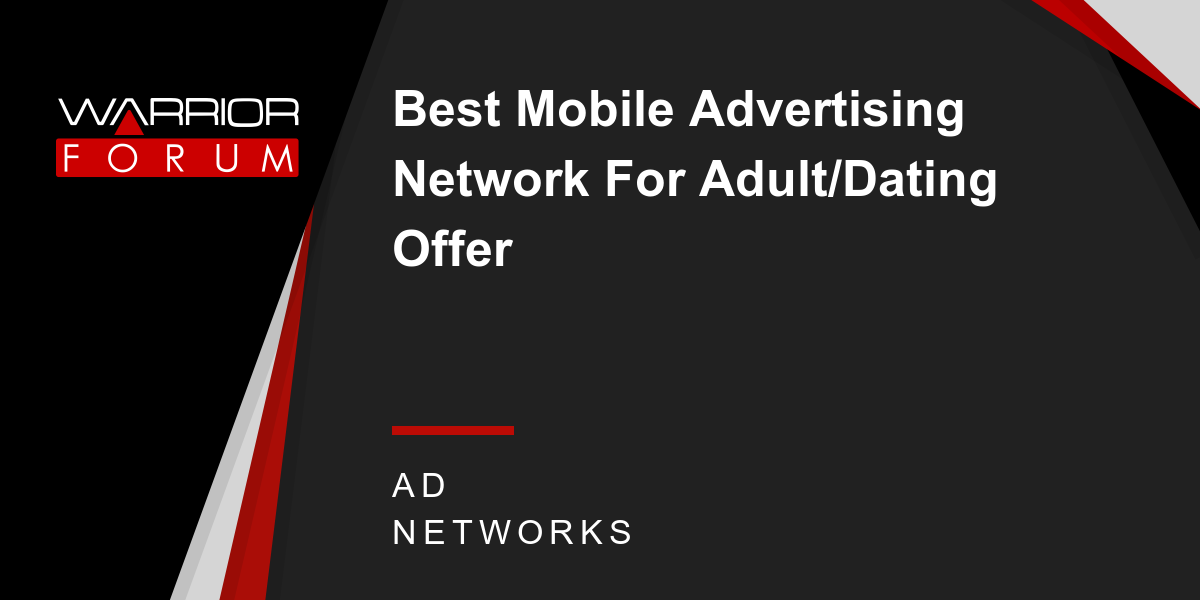 Dating ad network