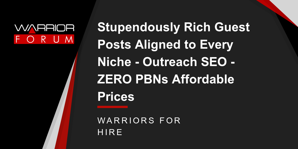 Marketing: Stupendously Rich Guest Posts Aligned to Every Niche