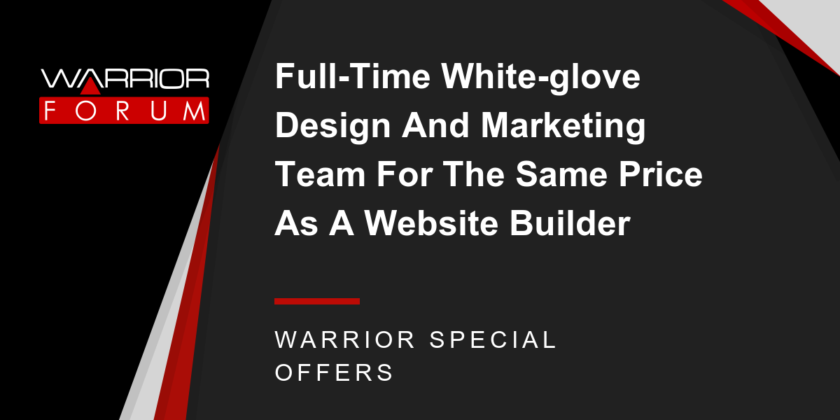 Full-Time White-glove Design And Marketing Team For The Same Price As A Website Builder Thumbnail