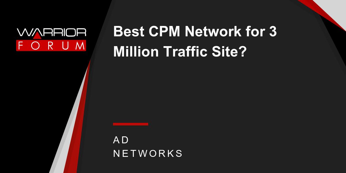 Best Ad Networks Ad Network Cpmcpl Display Forum