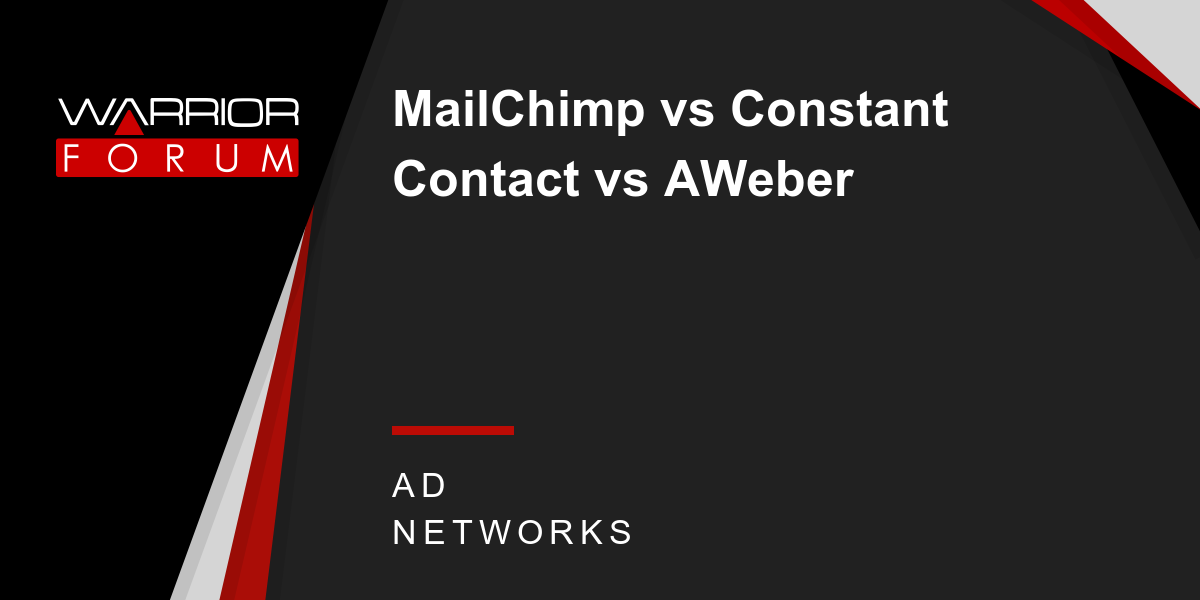 The Main Principles Of Aweber Vs Constant Contact