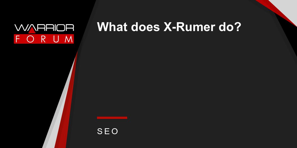 How much does xrumer cost установка ssl сертификата cpanel