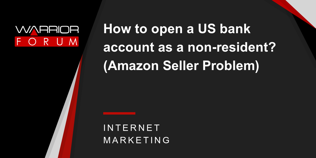 how to open a us bank account non-resident