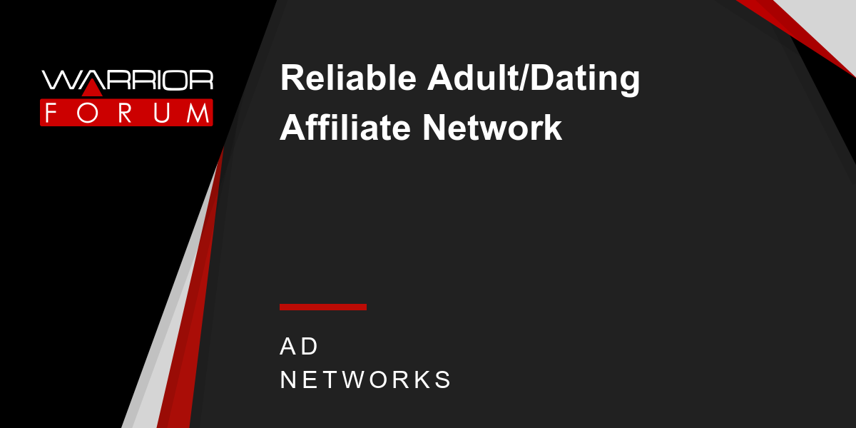 dating affiliate network