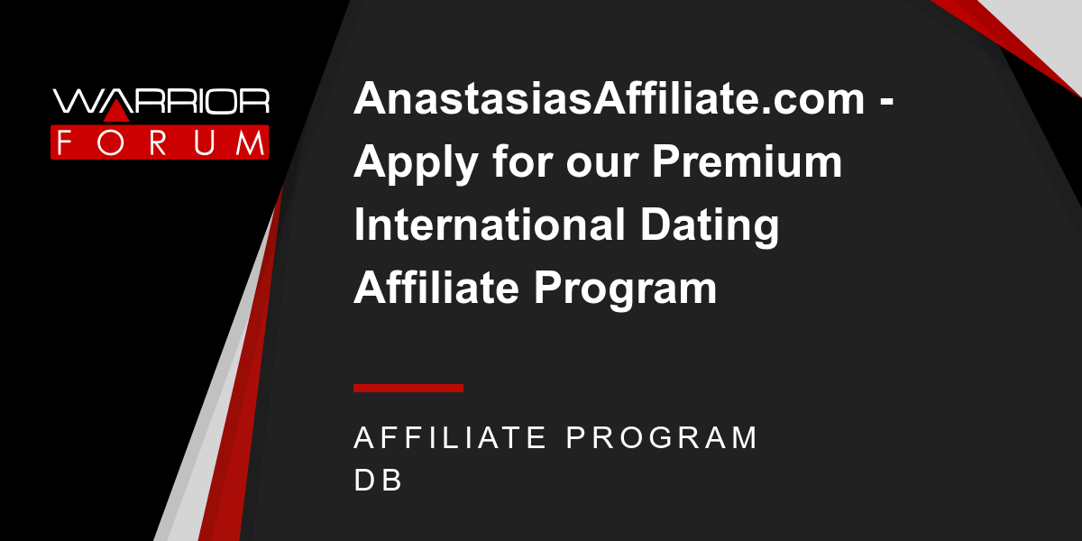 International dating affiliate program