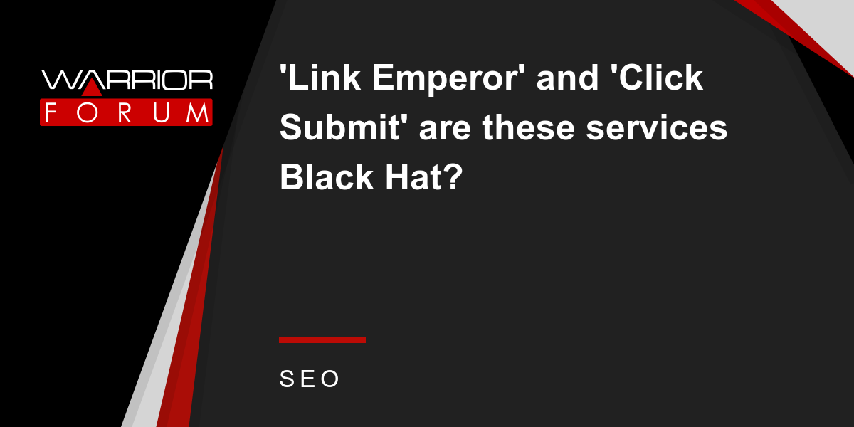 f0b76f5a012 Link Emperor  and  Click Submit  are these services Black Hat ...