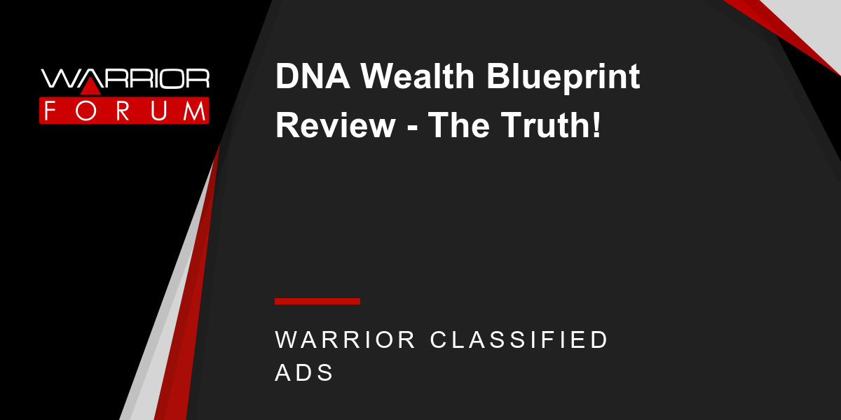Dna wealth blueprint review the truth malvernweather Gallery